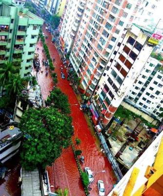 Dhaka streets red with blood on Eid
