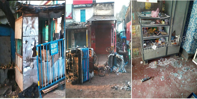 Atleast 12 Communal Riots in West Bengal Over Muharram-Durga Puja Tensions