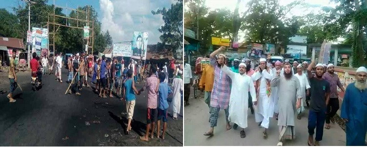 Islamist mobs on the rampage against Hindus in Bangladesh