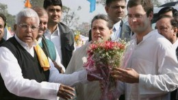 Lalu Yadav with Dynasty