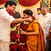 Veena Vijayan weds P.A. Muhammed Riyas, convicted murderer is special invitee