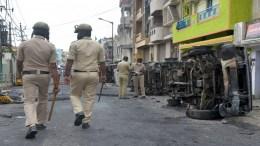 Aftermath of Bengaluru riots