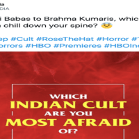 HBO India misrepresents Hindu sects to promote Halloween movie