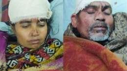 Bangladesh Hindu Family Attacked