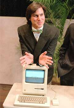 Photograph of Apple Computer co-founder Steve Jobs