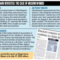 After Chhattisgarh its Bihar-   illegal hysterectomy on 14-yr-olds #VAW # Reproductiverights