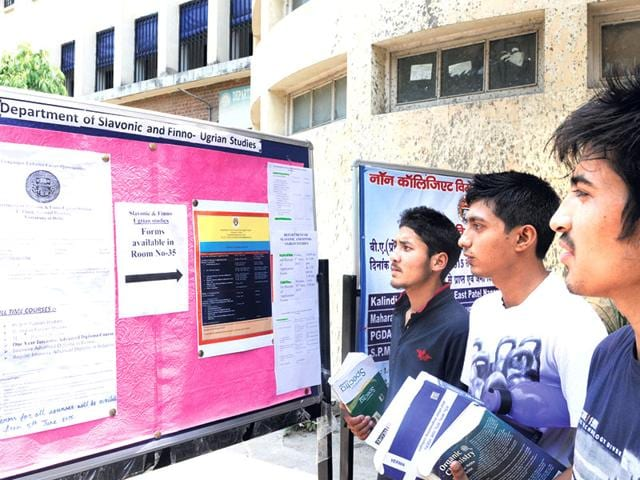 Master A Foreign Language In Delhi University Education