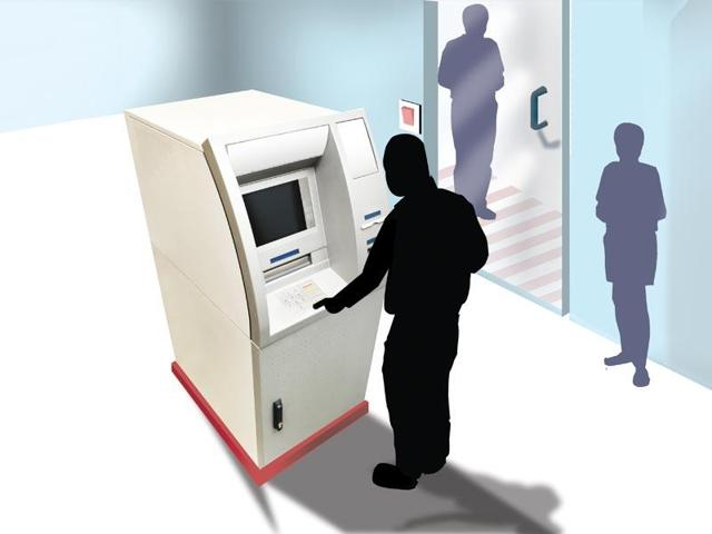 Be careful while depositing money into the ATM-The thieves are waiting for you