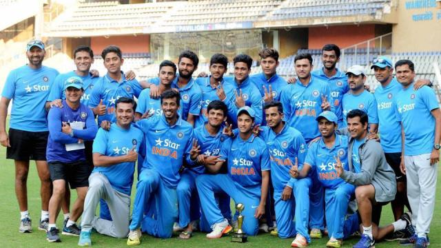 Image result for U19 CRICKET TEAM INDIA