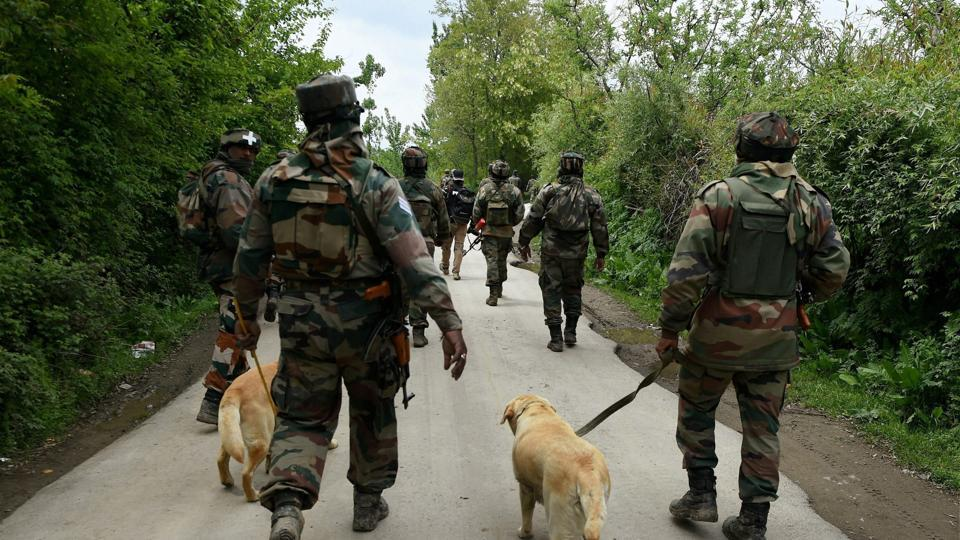Image result for Indian Army Camp in Shopian Village Irks Locals