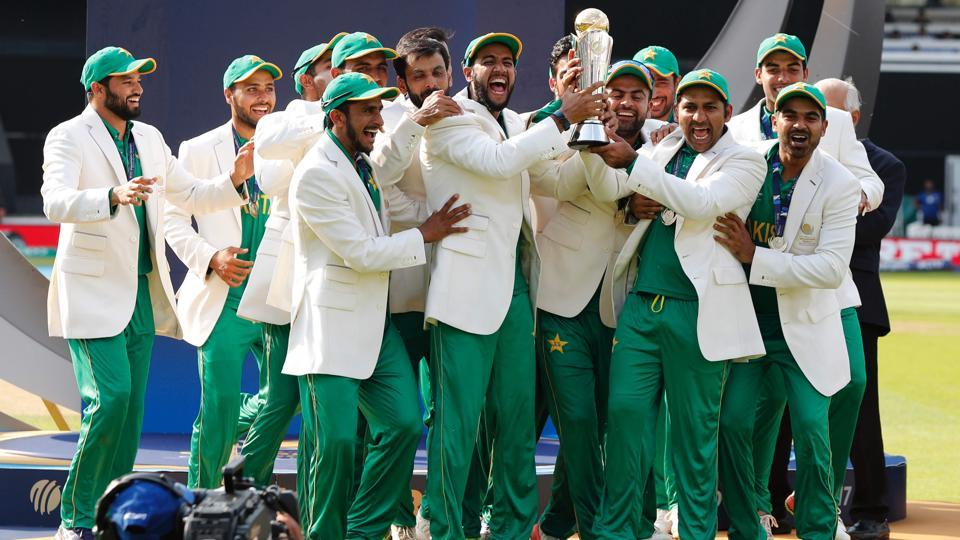 ICC Champions Trophy Pakistan Showers Praise On Twitter After Win Vs India Icc Champions