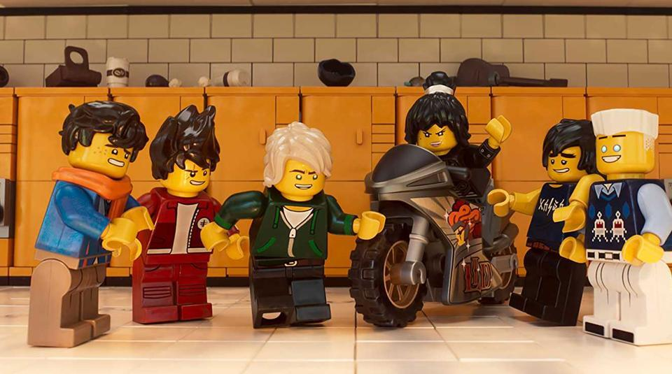 The Lego Ninjago Movie review  Nothing anymore is awesome   movie     Llyod hates school even when he as five friends who are ready to give their  life for him