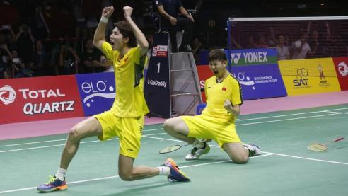 Image result for China Claims Thomas Cup 2018