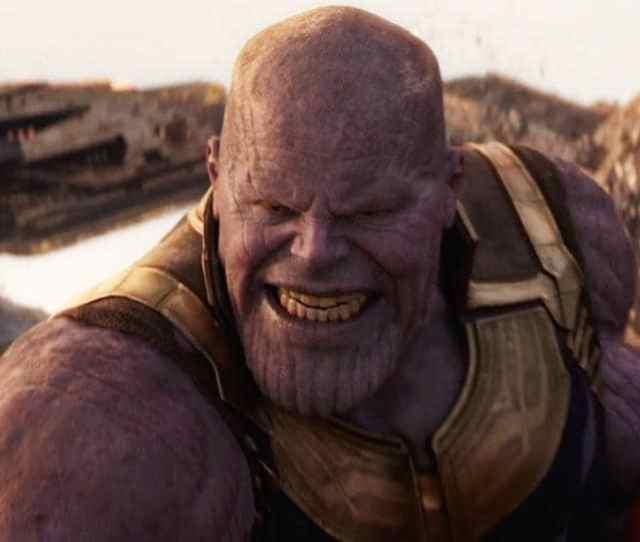 Josh Brolin As Thanos In A Still From Avengers Infinity War