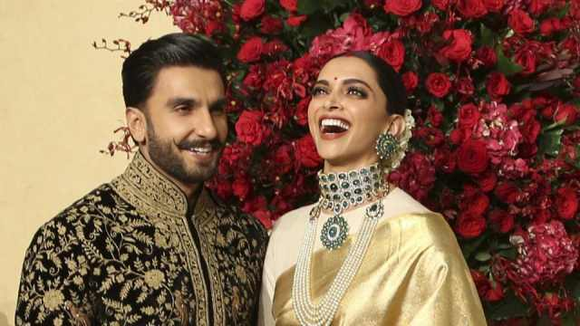 Image result for deepika padukone ranveer singh wedding