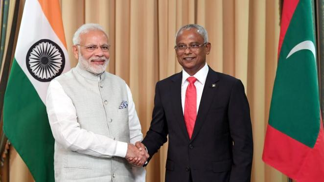 Image result for Maldives President Ibrahim Solih calls India 'our closest friend'