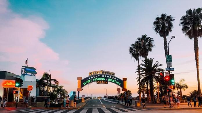 With bright blue skies and stunning sunsets, experience Santa Monica like a loc... 1