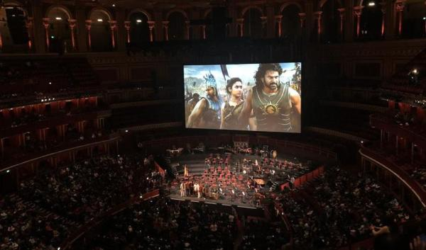 Baahubali The Beginning is first non-English film to be screened at Royal Albert Hall in London, receives a standing ovation. See pics, videos