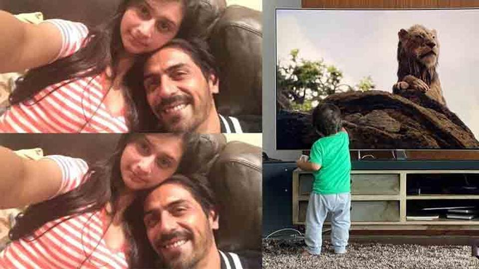 Arjun Rampal is a happy father as he celebrates daughter Mahikaa's outstanding outcomes, enjoys movietime with son Arik – bollywood