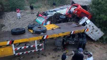 Bus Crash in Northern Pakistan Kills 16 People
