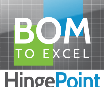 HingePoint's BOM to Excel App for Revit Reviewed