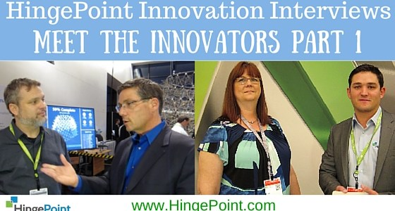 "The ""Best Of"" HingePoint's AU'15 Innovation Interviews  Meet The Innovators Part 1"