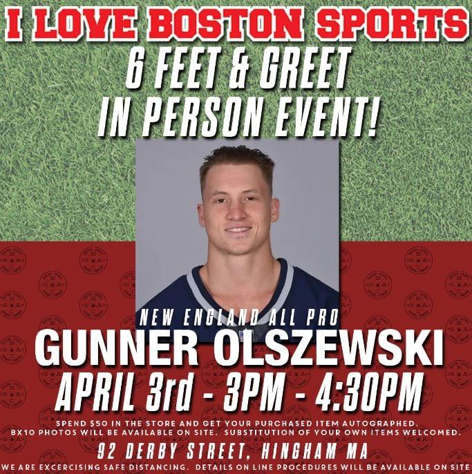 i love boston sports 6 feet and greet