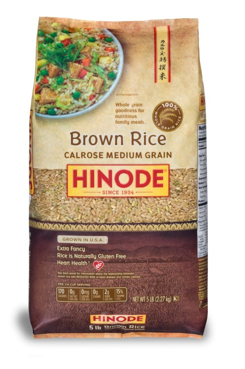 5lb Brown Calrose Medium Grain_MAINLAND