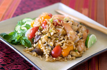 Thai Fried Brown Rice