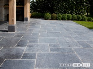 Bluestone Roman Pattern for walkway and footpath suitable for outdoor floor