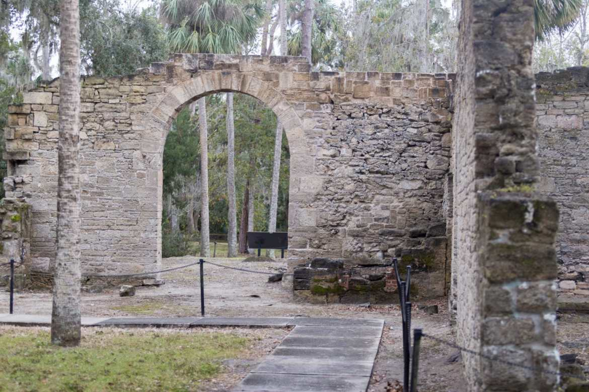 Sugar Mill ruins in New Smyrna Beach by Hinson Photography