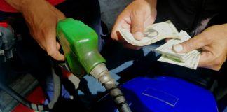distribución de gasolina