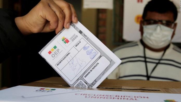 Arce 52% de votos