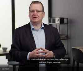 Olaf Hinz im linkedin learning Video digitale & agile Transformation
