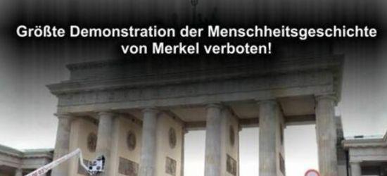 Merkel will Demo verbieten