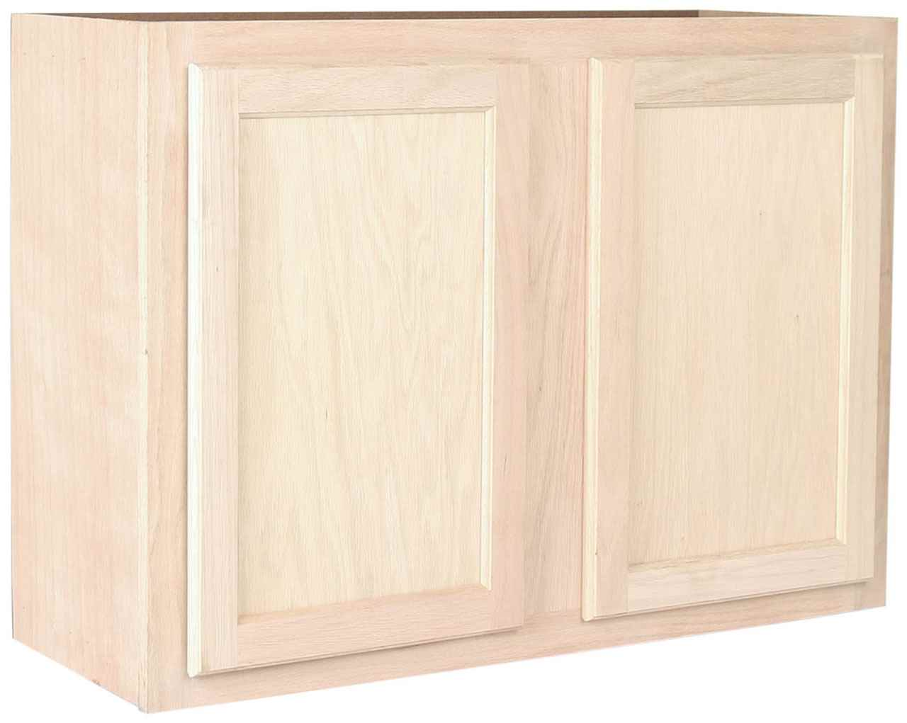 Saco Unfinished Wall Cabinet 36 Inch X 24 Inch Saco Collection