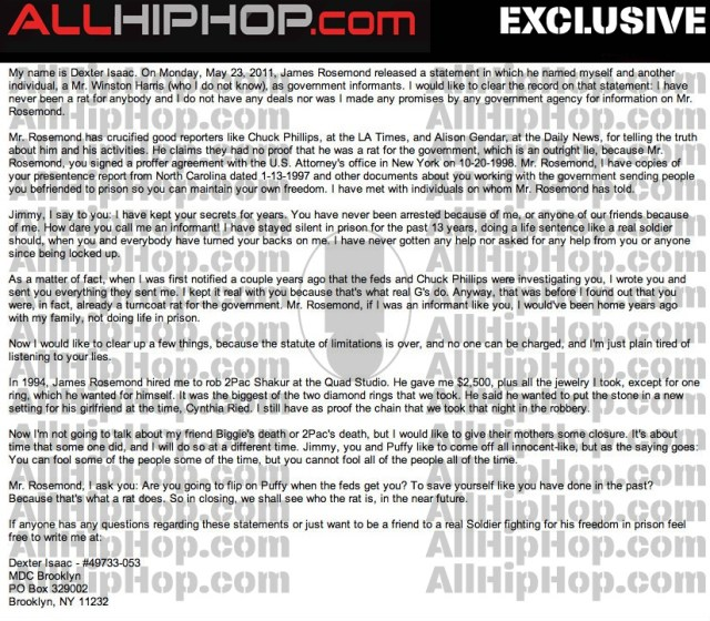 Tupac confession