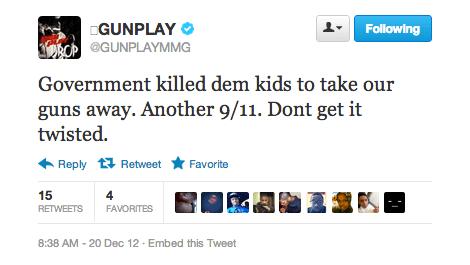 Gunplay tweet