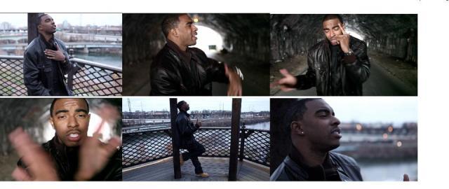 Trel Mack video shoot