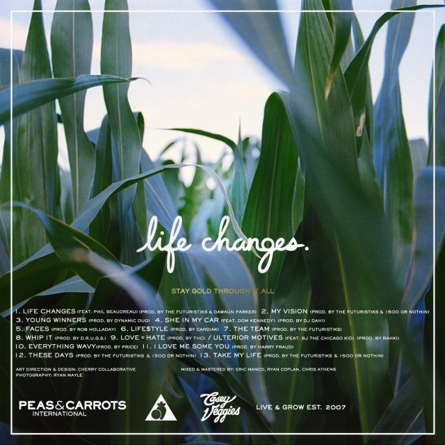 Life Changes track listing
