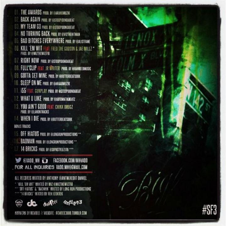 SF3 track listing