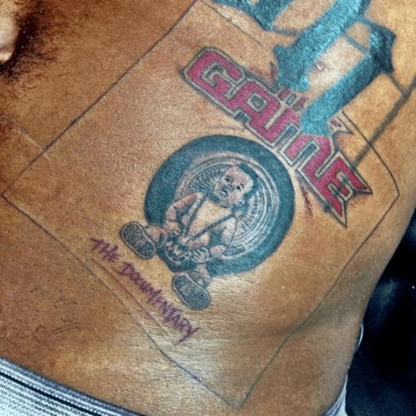 Game tattoo 3