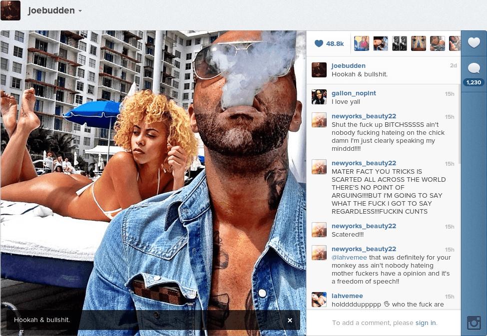 Kaylin Garcia talks Joe Budden and Tahiry Jose; posts pics ...
