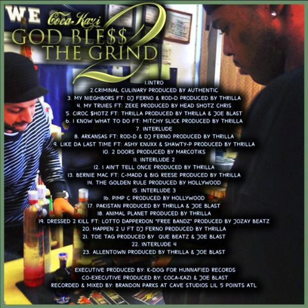 God Ble$$ the Grind 2 back
