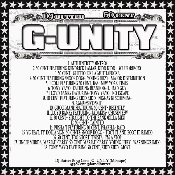 Mixtape download 50 cent g unity hosted by dj butter - Kendrick lamar ft lloyd swimming pools ...