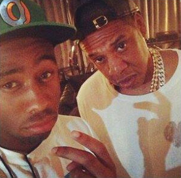 Tyler and Jay-Z