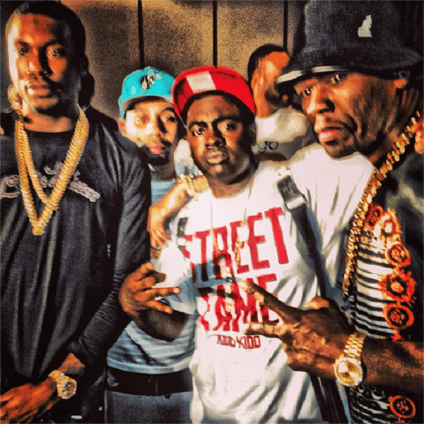 Meek Mill Shows Up At Kidd Kidd S Listening Party Shares