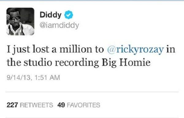Diddy tweet