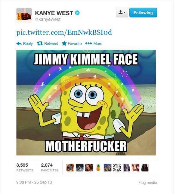 Kanye West rant 1
