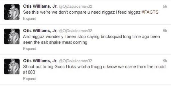 OJ Da Juiceman tweets 1